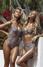 Natalie Roser and Elizabeth Turner - Guess Summer 2020 Swimwear Collection