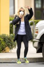 Nicollette Sheridan Almost pops out of her top on Sushi Pickup