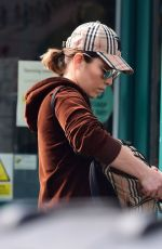 Noomi Rapace Shopping for essentials at Planet Organic in London