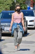 Olivia Wilde Out for a walk in Santa Monica