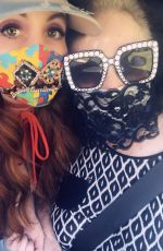 Phoebe Price Has a collection of COVID-19 personalized masks