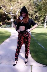 Phoebe Price Staying Active in West Hollywood