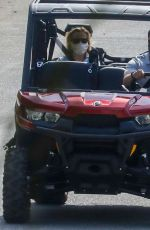 Reese Witherspoon Out in ATV with a Friend in Malibu