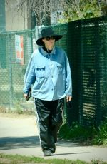 Rooney Mara Goes for a walk with what appears to be a possible baby bump