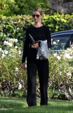 Rosie Huntington-Whiteley out with her son Jack in Beverly Hills