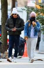 Sailor Brinkley-Cook and Her Boyfriend Head Out for a Mask-Less Stroll to a Park in Brooklyn
