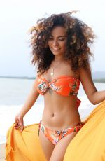 Sam Clark Poses for a bikini swimwear photo shoot with items from Seafolly and Baku in Cairns