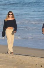Scott Disick & Sofia Richie Walk together on the beach in Malibu, California