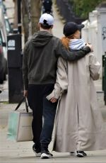 Stacey Dooley and her former Strictly Come Dancing boyfriend Kevin Clifton looking very tactile while out and about in Notting Hill