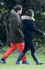 Susanna Reid and her son spotted taking their once a day exercise during the COVID-19 lockdown in London