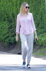 Tish Cyrus Spotted on a Walk Through her Studio City Neighborhood With a Male Companion