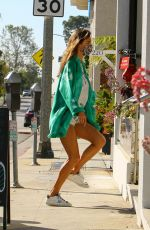 Alessandra Ambrosio Getting coffee in Brentwood