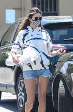 Alessandra Ambrosio Shops at Vons Market with her son in Santa Monica