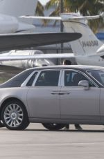 Alex Rodriguez & Jennifer Lopez Leaving Miami on a private jet, Miami