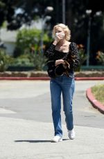 Amber Valletta and Teddy Charles are Pictured Walking Their Dogs in Los Angeles