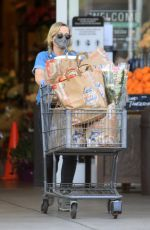 Amy Poehler Getting groceries in LA