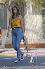 Ana De Armas Out with her dog in Venice