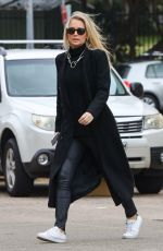 Anna Heinrich Pictured looking happy and in love while stepping out for brunch in Sydney