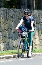 Anne Hathaway Out with her family in Connecticut