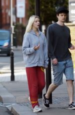 Anya Taylor-Joy Out in London