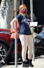 Ariel Winter Heading to the bank in North Hollywood