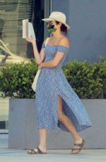 Ashley Greene Reading a book in Beverly Hills