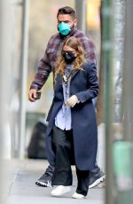 Ashley Olsen Is spotted outside of her office in New York