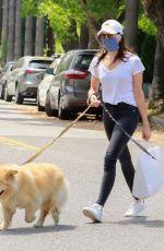 Aubrey Plaza Taking her dogs to the pet store in Los Feliz