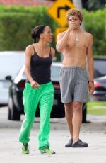Barbara Becker Out with son Elias in Miami