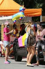 Bella Thorne & Ruby Rose At a birthday party in Studio City