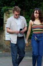 Ben Hardy & Olivia Cooke Walks hand in hand as they shopping for supplies in Primrose Hills