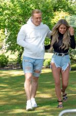 Bianca Gascoigne Out in Kent