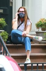 Brooke Shields Out in New York