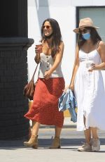 Camilla Belle On a stroll with a friend in West Hollywood