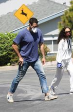 Cara Santana And Jesse Metcalfe are pictured out and appear to spending more time together in Los Angeles