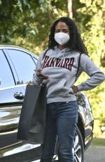 Christina Milian Out in Beverly Hills