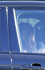 Cindy Crawford & Kaia Gerber Driving out in Malibu, California