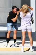 Cindy Prado Shoots in the newly reopened Design District on the 1st day of shops being reopened in Miami