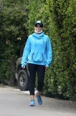 """Courtney Thorne-Smith Goes on a hike following """"Melrose Place"""" reunion special in Los Angeles"""