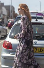 Eleanor Tomlinson Shopping in Coventry