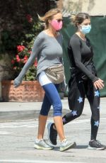Elisabetta Canalis Out walking in Beverly Hills