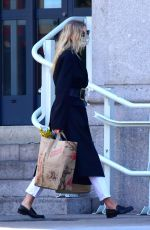 Elsa Hosk Covers up on shopping trip to Trader Joe