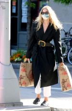 Elsa Hosk Shopping at Trader Joe