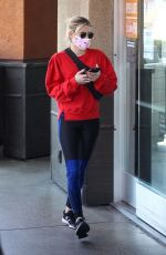 Emma Roberts Shopping at Erewhon Market in West Hollywood