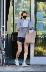 Erin Andrews Picking up lunch in LA