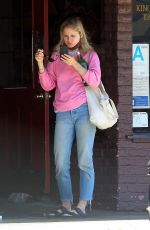 Erin Moriarty Picking up food in Hollywood