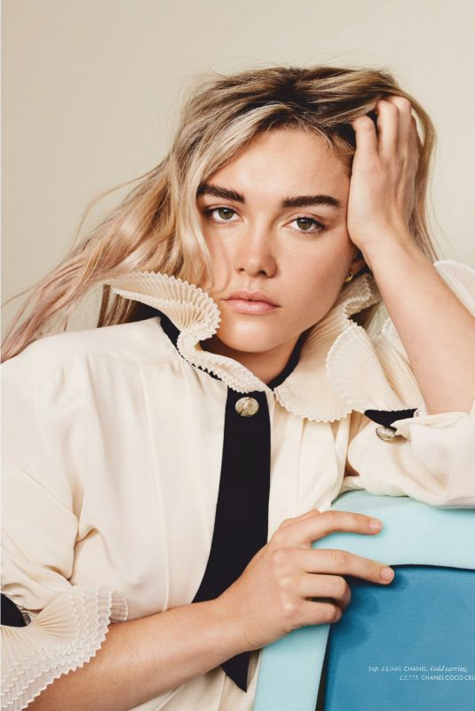 Florence Pugh - Elle UK - June 2020