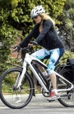 Goldie Hawn Gets in a Rigorous Bike Ride