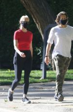 Gwyneth Paltrow Goes on a romantic afternoon stroll with husband Brad Falchuk in Pacific Palisades