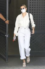 Hailey Bieber At a business meeting in LA